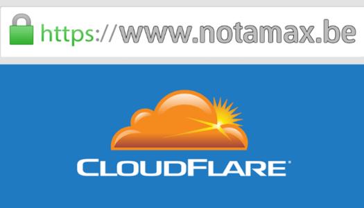 CloudFlare: passer son site web en Https