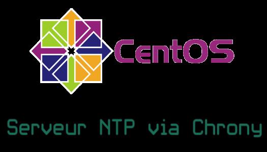 Créer un serveur NTP sur CentOS 7 (Chrony)