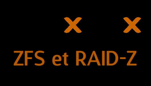 Proxmox v6 : Création d'un pool de stockage ZFS en RAID-Z