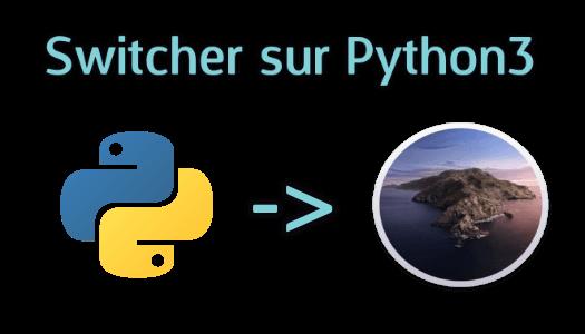 Installer Python3 sur MacOS Catalina