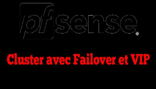 pfSense: création d'un cluster