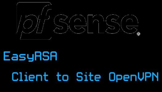 Certificate Authority avec EasyRSA et implémentation sous pfSense